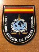 SPAIN PATCH POLICE POLICIA JUDICIAL INTERPOL - ORIGINAL!
