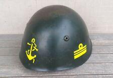 Elmetto M33 Ufficiale Marina Militare anni '70 ex Regia Marina
