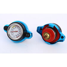 Car 1.1 Bar Thermostatic Radiator Cap 16 PSI Pressure Rating Temperature Gauge