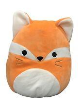 """Squishmallow 13"""" Fifi the Fox Super Soft Plush Toy #404896"""