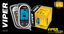 Viper 5704V 2 Way Car Alarm Remote Start Keyless System Lcd Pager 5704 1 Mile