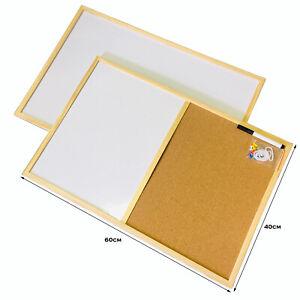 Notice Cork Board Pin Message White Board Office Memo School board  60 x 40cm