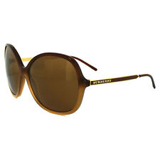 Burberry Sunglasses 4126 3369/6H Brown Shaded Hazelnut Brown Gold Mirror