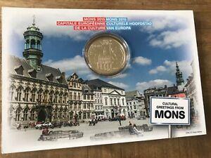 LIQUIDATION Coincard 5 euros BELGIQUE 2015 - Mons, Capitale Européenne Culture
