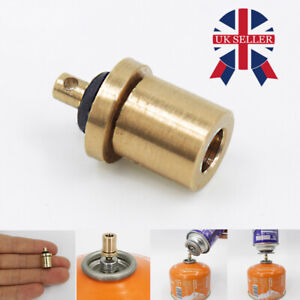 1*Gas Refill Adapter Stove Cylinder Butane Canister Tank Outdoor Camping BBQ