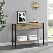 [en.casa]® Armario - Cómoda - Apariencia de madera / Negro - 78 x 100 x 35cm