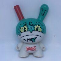 "Kidrobot x Sonic Wacky Pack 4"" Route 44 Milkshake Dunny 3"" Dunnys rare LE Chase"