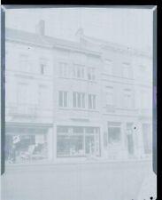 Commerce - Rue de la Station Braine-le-Comte - Ancien négatif Photo Original