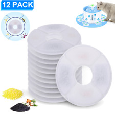 Pet Water Fountain Filter Activated Carbon Dog Cat Water Feeder Filters Us Stock