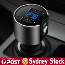 Wireless Bluetooth Car Kit FM Transmitter MP3 Music Radio Player USB Charger AU