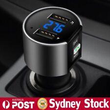 Wireless Bluetooth Car Kit FM Transmitter MP3 Music Radio Player USB Charger AU