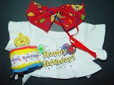 Happy Birthday Shirt and Cake will Fit Build a Bear