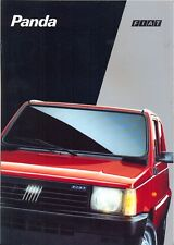 FIAT PANDA GAMMA Inc Trekking 4x4 Country Club CLX 1993 ITALIANO BROCHURE DI VENDITA
