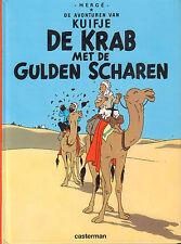KUIFJE - DE KRAB MET DE GULDEN SCHAREN (KLEINE HARDCOVER) - Herge