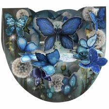 Santoro Popnrock 3D Greeting Card - Butterflies