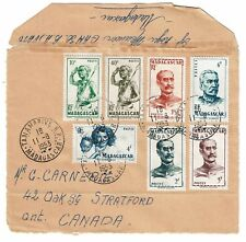 Madagascar 1953 Cover to Canada (Front Only) - Z62