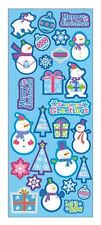 """BEAUTIFUL FUN STICKERS """" CHRISTMAS ICE """" FOR CARDS & CRAFT"""