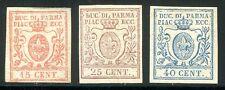 ITAL PARMA 1857 9-11 * SCHÖNER SATZ 595€(Z1259