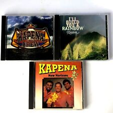 Kapena -  3 CD Lot - Ill Build You A Rain bow Da Crew New Horizons
