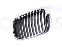 Front Central Grill Black and Chrome Nearside Fits BMW 5-Series E39 2000-2003