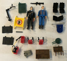 Vintage 1983 Galoob A-Team Action Figure Lot Accessories Parts Backpacks 1980s