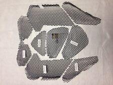 2012-2017 KAWASAKI ZX 14 ZX-14 BLACK FAIRING & NOSE GRILLS SCREENS VENTS MESH