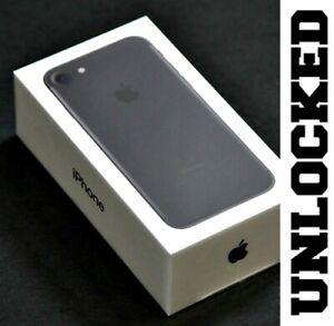 Apple iPhone 7 32GB BLACK (FACTORY UNLOCKED) ✅ VERIZON ✅ AT&T ✅T-MOBILE *SEALED*