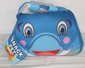Kids Dolphin Character Freezeble Lunch Box And Place Mat
