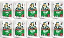 # Zehnerpaket SKAT, Deutsches Bild ASS Club Spielkarten Skatkarten 32 Blatt G Q