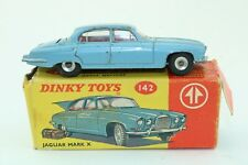 Dinky Toys No 142 Jaguar Mark X - Meccano Ltd - Made In England - Boxed