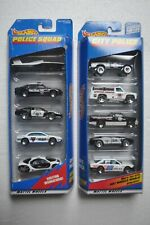 2 – Hot Wheels diecast model car 5 packs – 1997 & 1998 Police Squad and City Pol