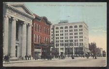 POSTCARD YOUNGSTOWN OHIO Bijou Theater Roig's Cigars Billiards Bowling Signs '07