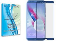 SDTEK Full Screen Glass Protector for Huawei Honor 9 Lite [Blue]