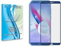 SDTEK Full Screen Glass Protector for Huawei Honor 9 Lite Blue