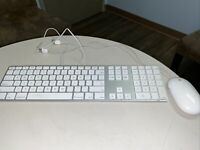 Apple Original Magic Keyboard with Numeric Pad A1243 MB110LL - Silver And Mouse.