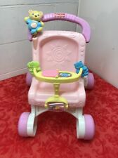 Fisher Price Baby Walker And Doll Stroller Girl Toy Toddler Play First Steps