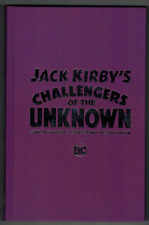 JACK KIRBY CHALLENGERS OF THE UNKNOWN - CBLDF SPECIAL EDITION - HARD COVER - NM!