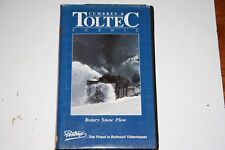 VHS VIDEO TAPE TITLED: ROTARY SNOW PLOW ON THE CUMBRES SHOWS SLIGHT USE