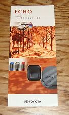 Original 2004 Toyota Echo Accessories Foldout Sales Brochure 04