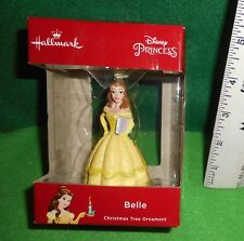 Lqqk Hallmark Disney [ Belle ] Princess Ornament Nib