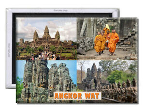 Angkor Wat Cambodia - Souvenir Fridge Magnet