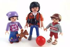 ASIAN CHINESE FAMILY / DAD & CHILDREN / City Life House School Figures Playmobil