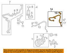 SUBARU OEM 08-14 Tribeca-Power Steering Pressure Hose 34611XA02D