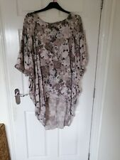 Ladies Lagenlook top/ Tunic from Made in Italy size 24/26 BNWT