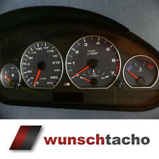 speedometer speedometer dial for BMW E46 Alp-Carbon 270 Kmh Petrol