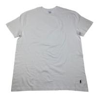 New Polo Ralph Lauren men's T-shirt Classic cotton White Size L Fit Crew Neck