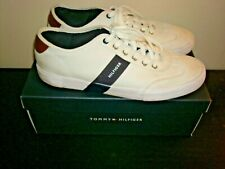 Mens Tommy Hilfiger Shoes Sneakers White Sze 11.5 Athletic Sport Fashion Casual
