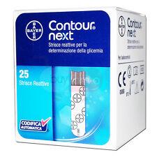 BAYER CONTOUR NEXT - 25 Strisce Reattive per il Controllo della Glicemia