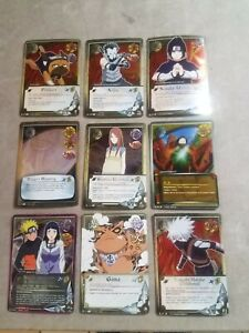 Naruto Platinum Foil Naruto Lot 9 CCG Weekly Tournament participation Cards New