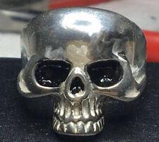 Keith Richards SZ 12 Skull Ring 925 (Legitimately) Sterling Silver 17 Grams